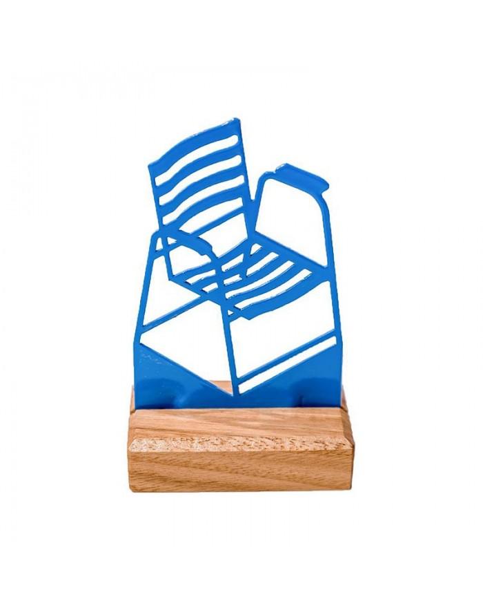 Chaise sur socle en bois (série limitée)