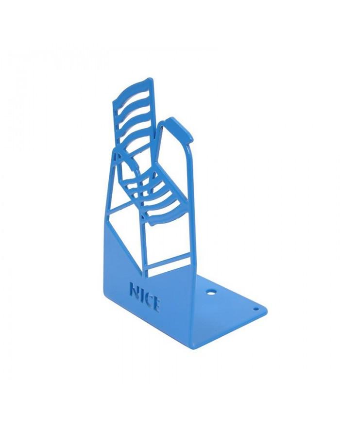 Chaise Bleue - socle plié