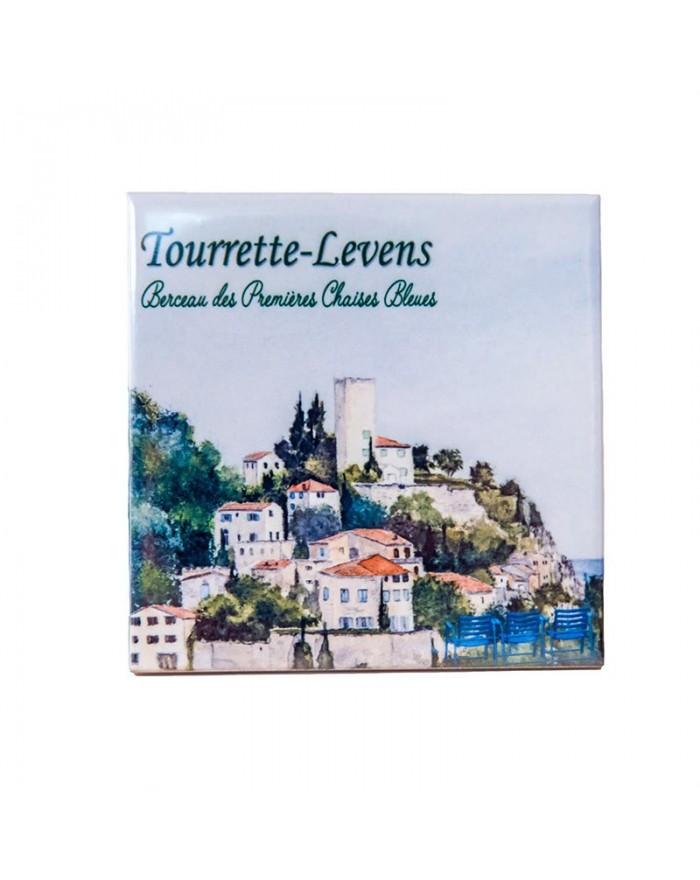 Dessous de bouteille Tourrette-Levens