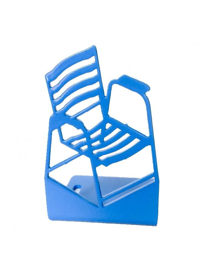 Mini Chaise Bleue