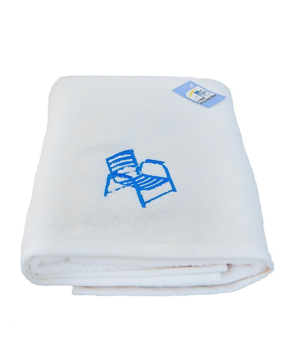 drap de bain blanc 70x140 cm. Black Bedroom Furniture Sets. Home Design Ideas