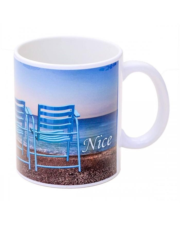 Mug 3 Chaises Bleues Nice