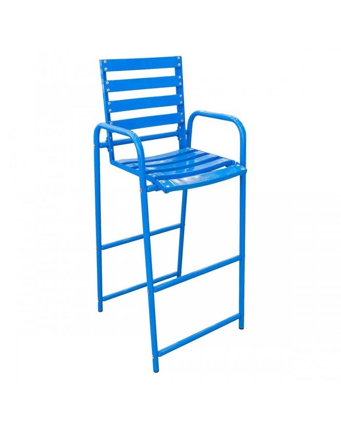 Chaise Bleue haute
