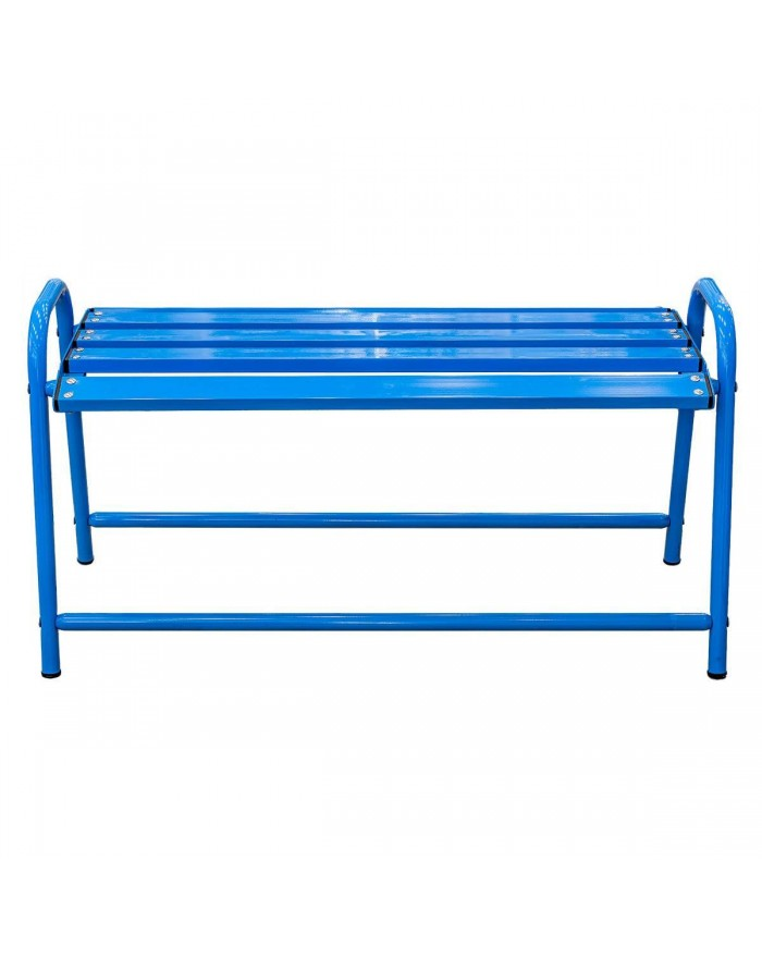 Blue Chair backless bench...