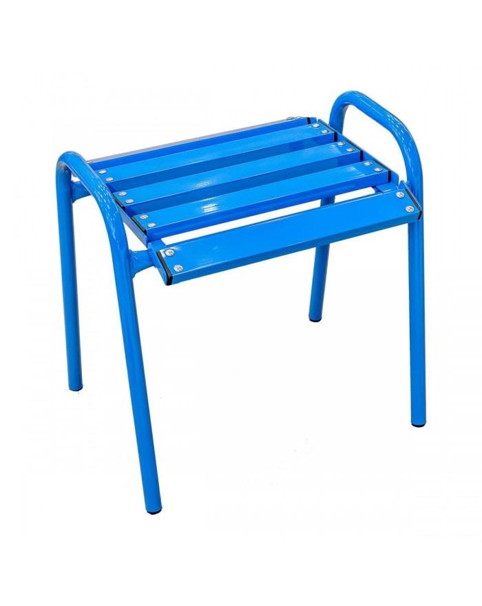 Chaise Bleue tabouret...