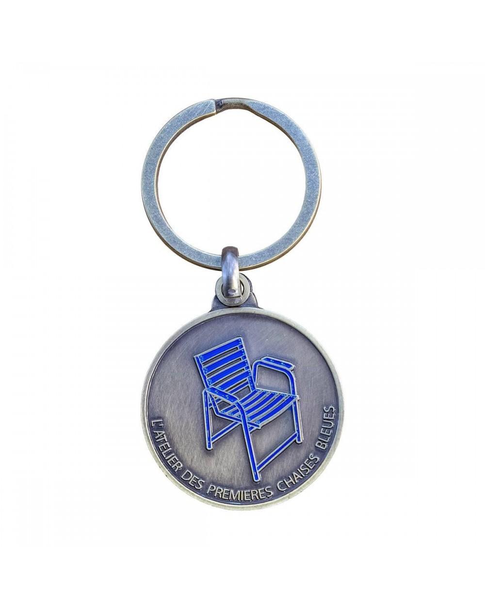 Porte-clé 70 ans de la Chaise Bleue