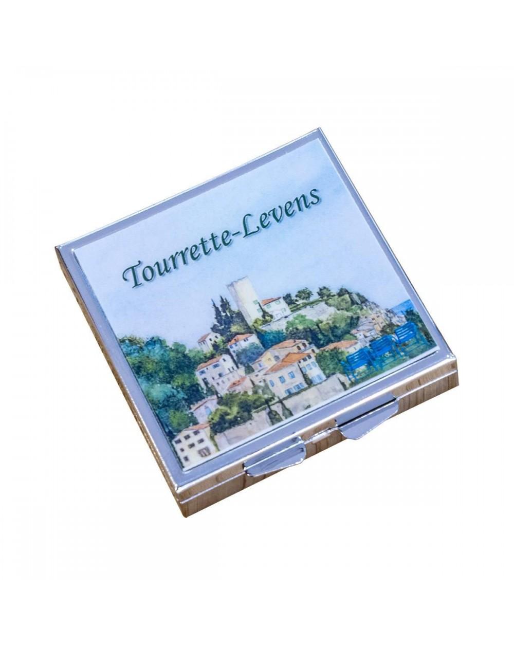 Miroir pliable de poche Chaise Bleue Tourrette-Levens