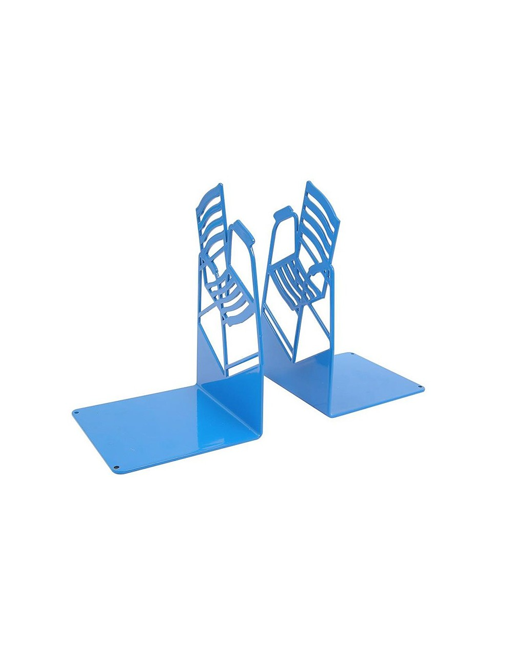 2 chaises serre-livre