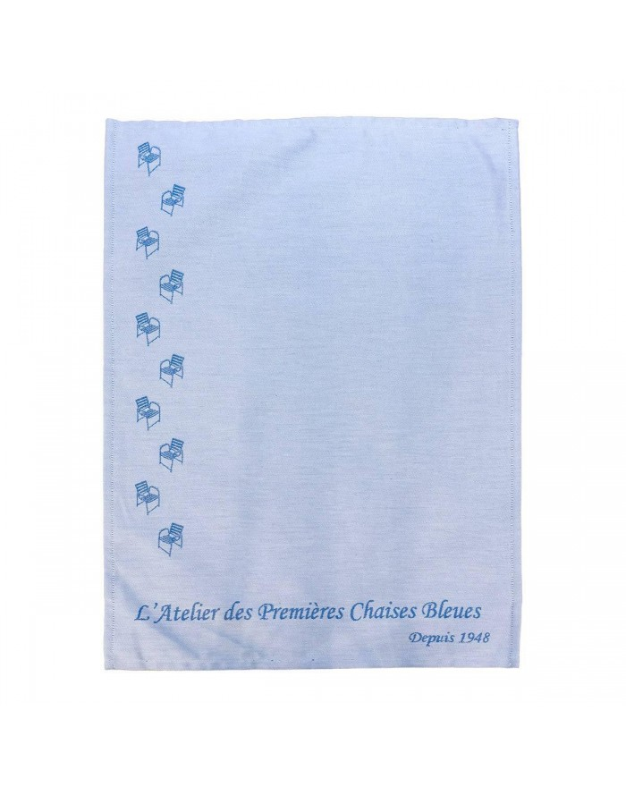 Torchon Atelier des Premières Chaises Bleues