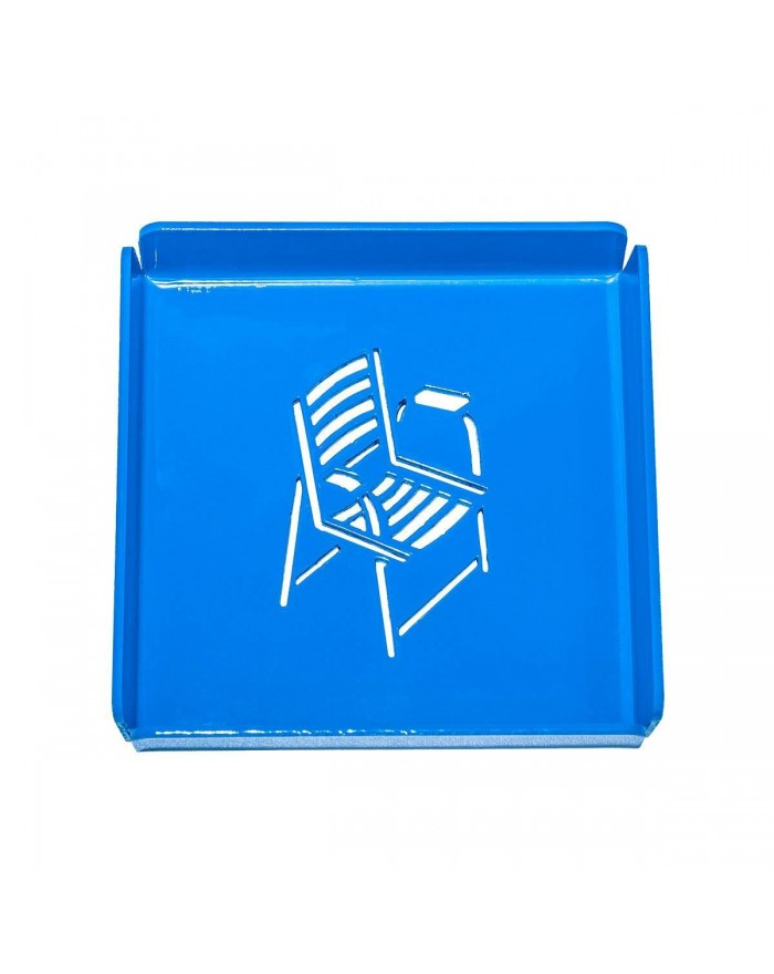 Plateau Métal petit Chaise...