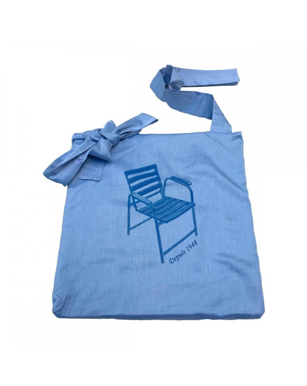 Galette / coussin pour Chaises Bleues