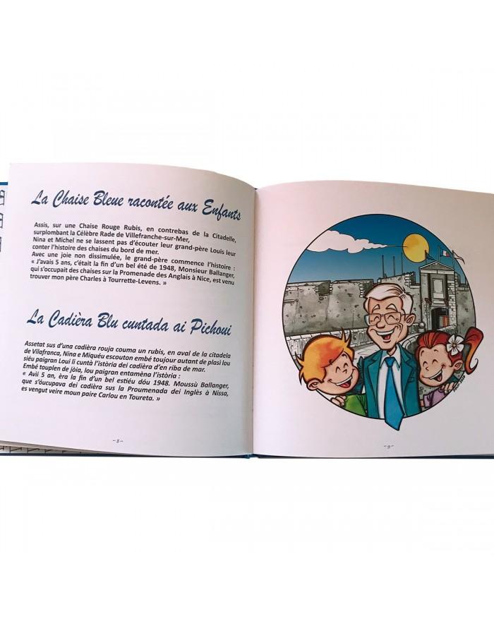 La Chaise Bleue racontée aux enfants - 1ère page