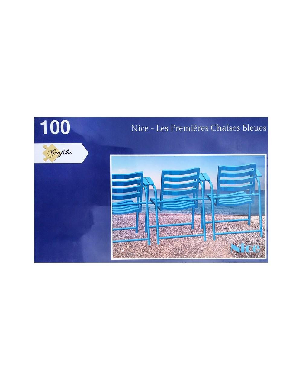 Puzzle Chaise Bleue