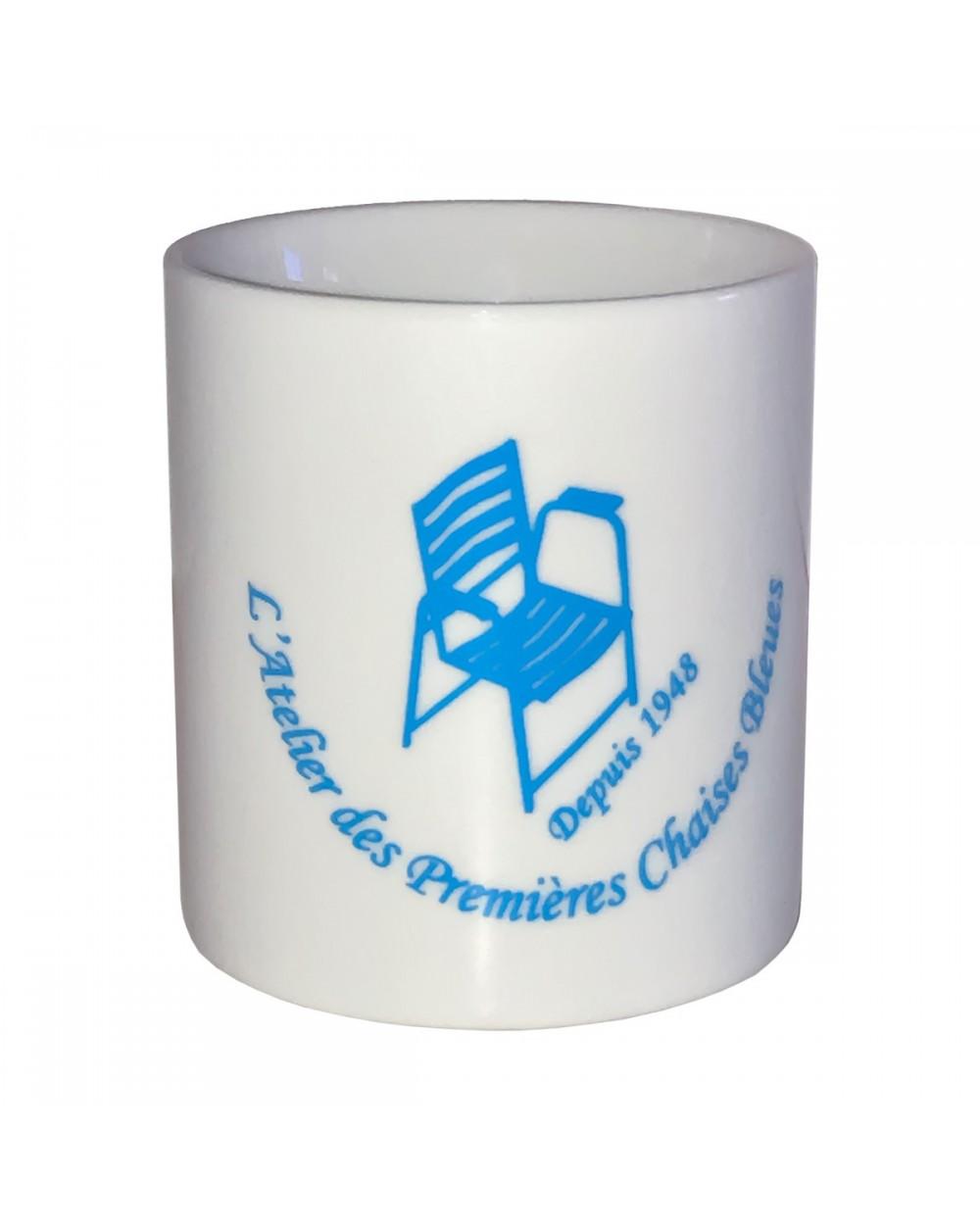 Mug Atelier des Premières Chaises Bleues - Face