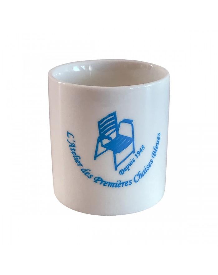 Mini Mug Atelier des Premières Chaises Bleues - Face