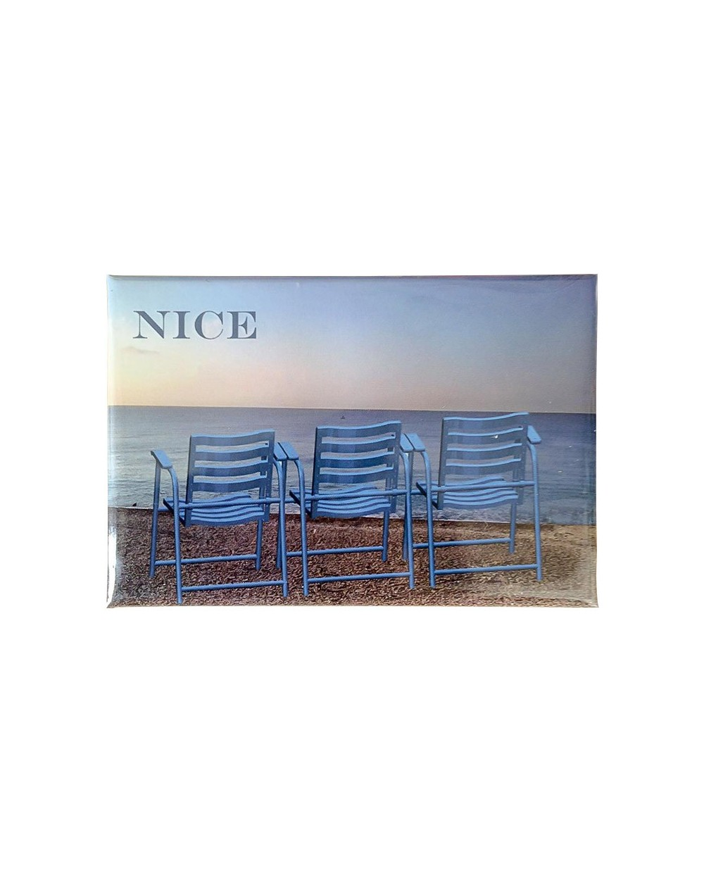 Magnet 3 Chaises Bleues Nice