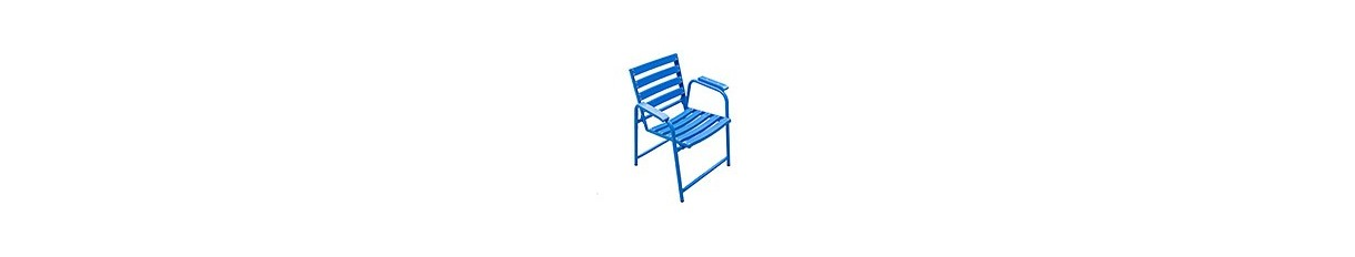 The original Blue Chair from the French Riviera