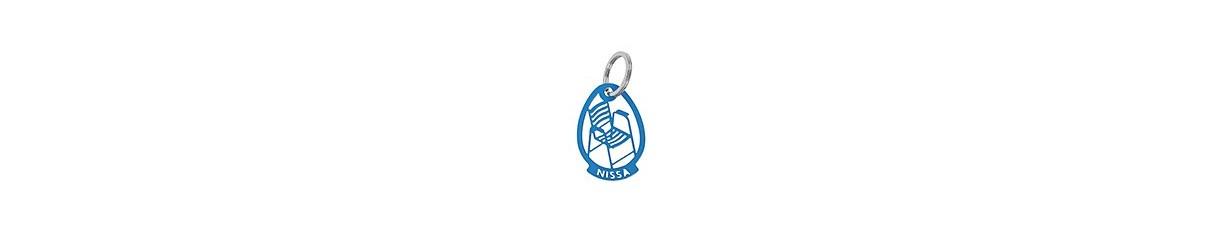 Porte-clés Chaise Bleue originale