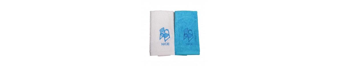 Linge de bain Chaise Bleue