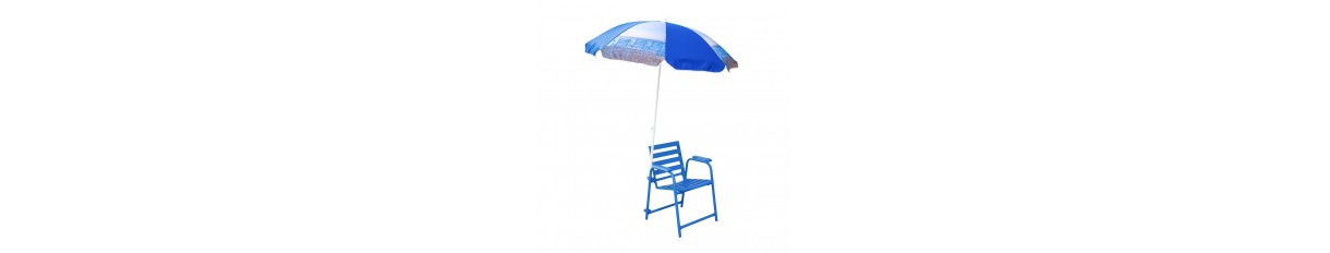 Outdoor - Chaise Bleue - Blue Chair