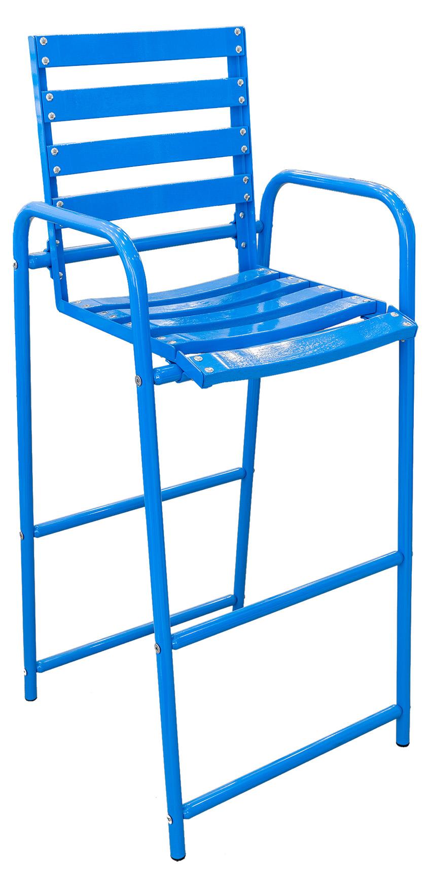 Chaise Bleue Haute - Nouvelle gamme Tordo